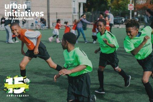 Urban Initiatives 2018 Annual Report