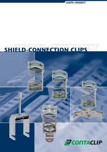 SHIELD-CONNECTION CLIPS - CONTA-CLIP