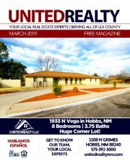 United Realty Magazine March 2019