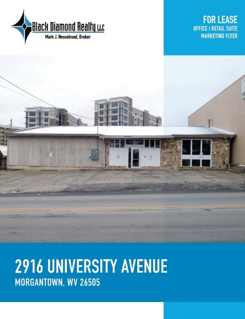2916 University Avenue Marketing Flyer
