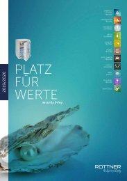 Rottner Katalog 2019-2020