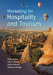 [+][PDF] TOP TREND Marketing for Hospitality and Tourism  [READ]