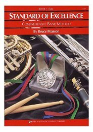 [+]The best book of the month Standard Of Excellence: Book 1 Trumpet/Cornet (comprehensive band method)  [DOWNLOAD]