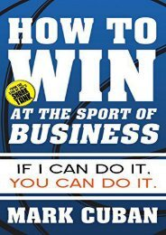 [+][PDF] TOP TREND How to Win at the Sport of Business: If I Can Do It, You Can Do It  [FREE]