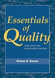 [+][PDF] TOP TREND Essentials of Quality with Cases and Experiential Exercises  [FREE]