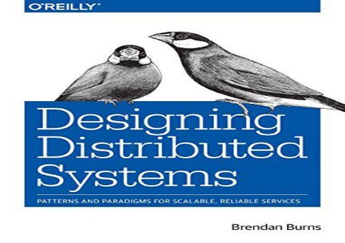 The Best Book Of The Month Designing Distributed Systems News