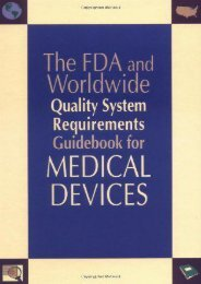 [+][PDF] TOP TREND FDA and Worldwide Quality Systems Requirements Guidebook for Medical Devices  [DOWNLOAD]