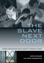 [+][PDF] TOP TREND Slave Next Door: Human Trafficking and Slavery in America Today  [READ]