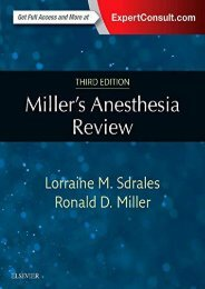[+][PDF] TOP TREND Miller s Anesthesia Review, 3e  [DOWNLOAD]