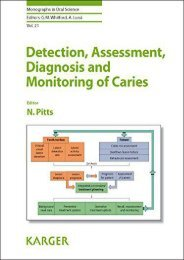[+]The best book of the month Detection, Assessment, Diagnosis, and Monitoring of Caries (Monographs in Oral Science)  [DOWNLOAD]