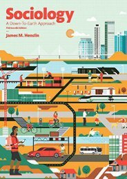 [+]The best book of the month Sociology: A Down-to-Earth Approach  [FREE]