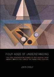 [+]The best book of the month Four Ages of Understanding: The First Postmodern Survey of Philosophy from Ancient Times to the Turn of the Twenty-First Century (Toronto Studies in Semiotics and Communication) [PDF]