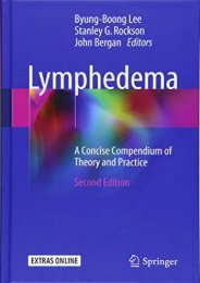 [+][PDF] TOP TREND Lymphedema: A Concise Compendium of Theory and Practice  [FULL]