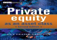 [+]The best book of the month Private Equity as an Asset Class (The Wiley Finance Series)  [FREE]