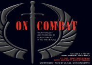 [+][PDF] TOP TREND On Combat: The Psychology and Physiology of Deadly Conflict in War and in Peace  [NEWS]