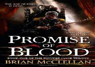 [+][PDF] TOP TREND Promise of Blood (Powder Mage Trilogy)  [DOWNLOAD]