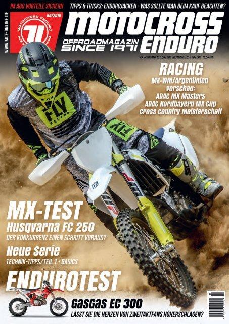 Motocross Enduro Ausgabe 04/2019