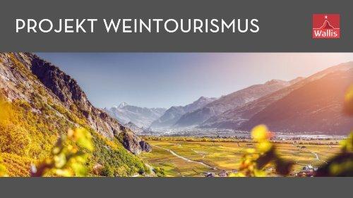 Projekt Weintourismus
