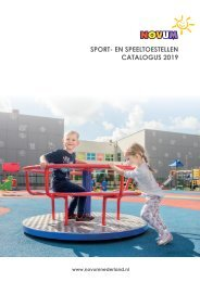 Sport- en speeltoestellen NOVUM 2019