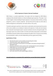 VOPS 71 2019 Learn to Work Together Expression of Interest OUTREACH COORDINATOR