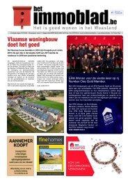 Het Immoblad week 11 dd 12 maart