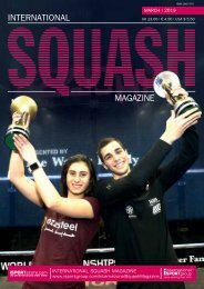International Squash Magazine – March 2019
