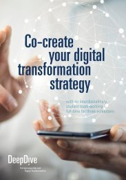 SCE/MUAS master program: Entrepreneurship and Digital Transformation