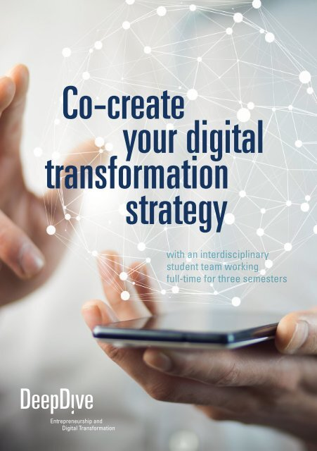 SCE/MUAS master program: Entrepreneurship and Digital Transformation