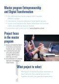 SCE/MUAS master program: Entrepreneurship and Digital Transformation  - Page 5