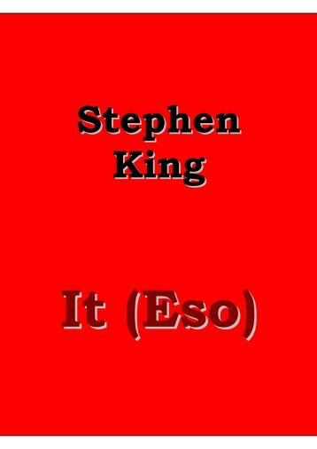 King, Stephen - IT (Eso)