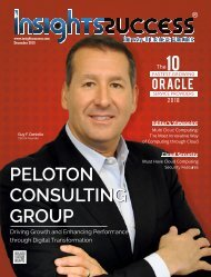 The 10 Fastest Growing Oracle Service Providers [ Business Magazine ]