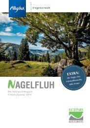 Nagelfluh - Das Naturpark-Magazin Frühjahr/Sommer 2019