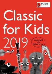 Programmheft2019_Classic for Kids