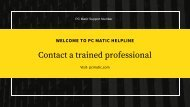 PC Matic Support (Toll Free) Customer Service