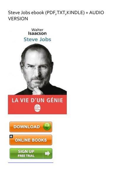 Steve Jobs PDF Free Download