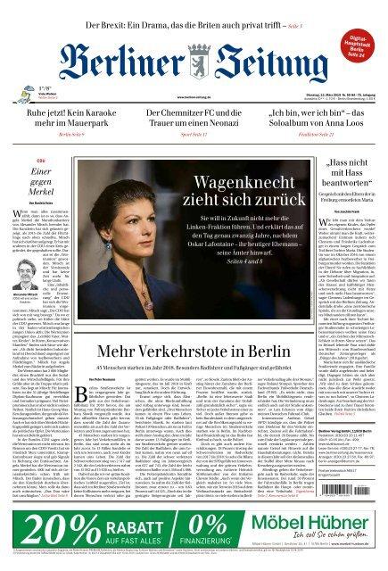Berliner Zeitung 12.03.2019
