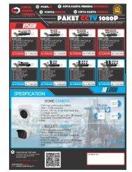 Jual Paket CCTV
