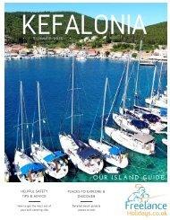 Freelance Holidays Kefalonia Magazine 2018