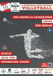 Spieltagsnews Nr. 10 gegen RPB Berlin