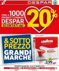 Despar Messina Volantino 14 - 27 Marzo 2019