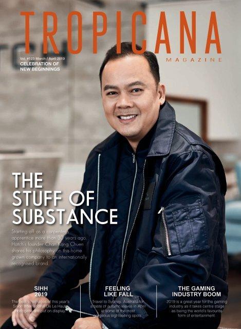 Tropicana Magazine Mar-Apr 2019 #123: Celebration of Beginnings