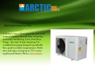 Best Heat Pump For Pool