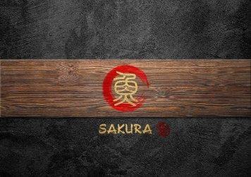 Sakura Speisekarte