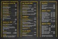 Bitburger Gasthaus Speisenkarte 2019