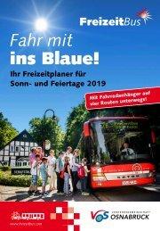 FreizeitBus Broschuere 2019