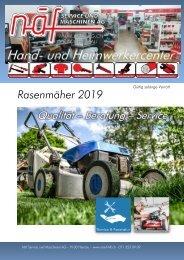 2019-Rasenmäher-Angebot