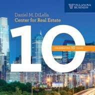 10th Anniversary Celebration of the Daniel M. DiLella Center for Real Estate