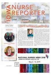 Iowa Nurse Reporter - April 2019