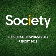 Corporate Responsibility Report 2018