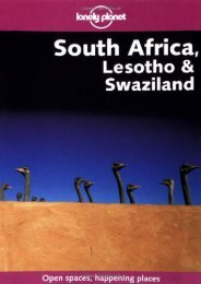 [+]The best book of the month South Africa, Lesotho and Swaziland (Lonely Planet Country Guides)  [DOWNLOAD]
